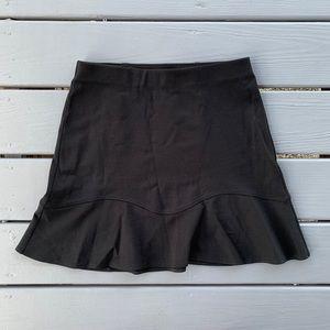 [ SOLD ] NWT Loft Aline Flounce Skirt